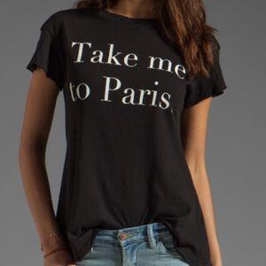 Wildfox Take Me To Paris Tshirt